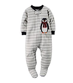 Carter's® Boys' 12M-4T Pleasantly Penguin Striped Sleeper
