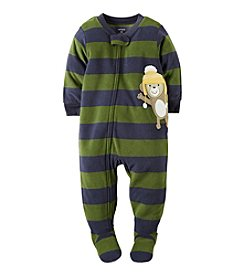 Carter's® Boys' 12M-4T Mellow Monkey Striped Sleeper