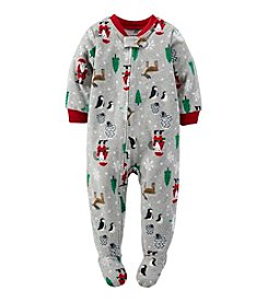 Carter's® Boys' 12M-4T Holiday Scene Sleeper