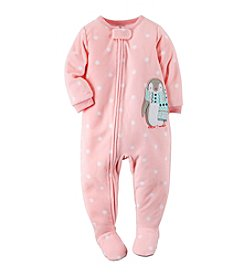 Carter's Girls' 12M-4T Pretty Penguin Dot Print Sleeper