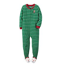 Carter's® Boys' 4-8 Striped Santa Sleeper