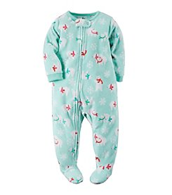 Carter's® Girls' 12M-4T Plenty 'O' Polar Bears Sleeper