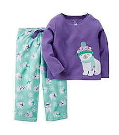 Carter's Girls' 12M-8 2-Piece Playful Polar Bears Pjs