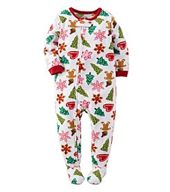 Carter's® Girls' 12M-4T Cookie Crumbles Sleeper