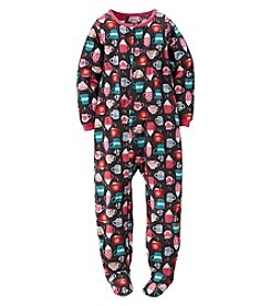 Carter's® Girls' 10-14 Topped With Marshmallows Hot Cocoa Sleeper