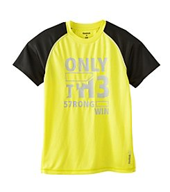 Reebok® Boys' 8-20 Short Sleeve Only The Strong Tee
