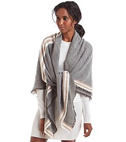 Collection 18 Striped Border Runway Wrap