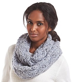 Collection 18 Diamond Is A Girl's Best Friend Loop Scarf