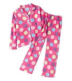 Komar Kids® Girls' Polka Dot Coat Front Set