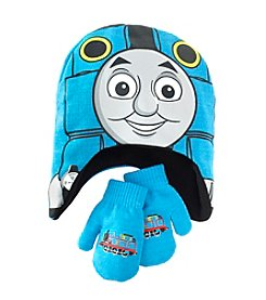 Thomas & Friends Boys' 2T-4T Thomas The Train Hat And Mitten Set