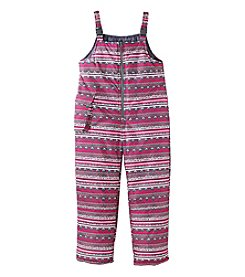 London Fog® Girls' 7-16 Geo Print Snowbib
