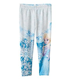 Disney® Girls' 2T-6X Frozen Elsa Print Leggings