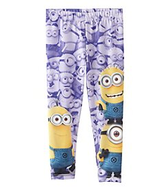 Nannette® Girls' 4-6X Minions Print Leggings
