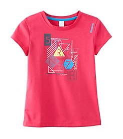 Reebok Girls' 2T-16 Zoom Up Graphic Tee