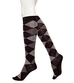 HUE® Arglye Knee Socks