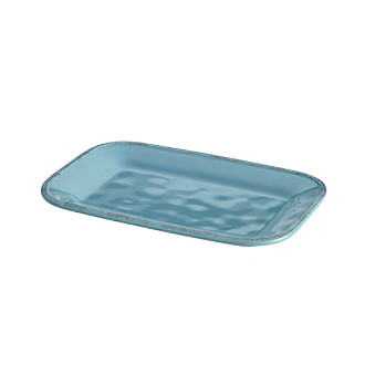 Rachael Ray® Cucina Agave Blue Rectangular Platter
