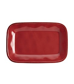 Rachael Ray® Cucina Cranberry Red Rectangular Platter