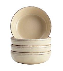 Rachael Ray® Cucina Almond Cream Set of 4 Fruit Bowls