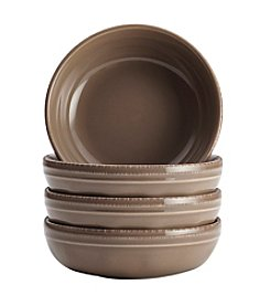 Rachael Ray® Cucina Mushroom Brown Set of 4 Fruit Bowls
