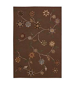 Nourison Contour Brown Area Rug