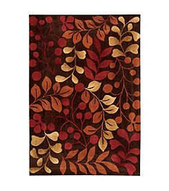 Nourison Contour Chocolate Area Rug
