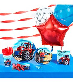 Farm Tractor Party Kit