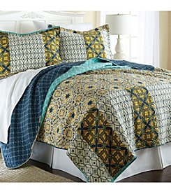 Pacific Coast® Taurus 3-pc. Reversible Quilt Set