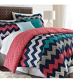 Pacific Coast® Improv Indigo 5-pc. Comforter Set