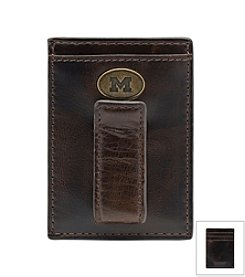 Jack Mason Men's University of Michigan Legacy Multi-card Front Pocket Wallet