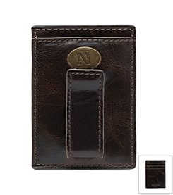 Jack Mason Men's University of Nebraska Legacy Multi-card Front Pocket Wallet