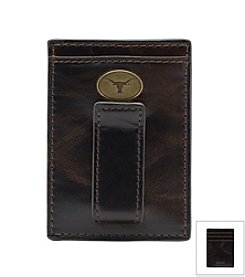 Jack Mason Men's University of Texas Legacy Multi-card Front Pocket Wallet