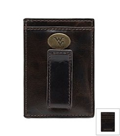 Jack Mason Men's West Virginia University Legacy Multi-card Front Pocket Wallet