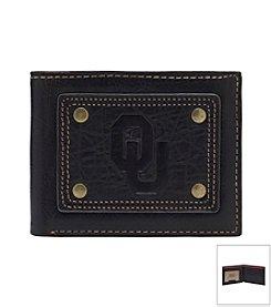 NCAA® University of Oklahoma Gridiron Slim Bi-fold Wallet