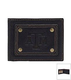 NCAA® Texas A&M University Gridiron Slim Bi-fold Wallet