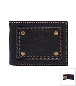 NCAA® University of Wisconsin Gridiron Slim Bi-fold Wallet