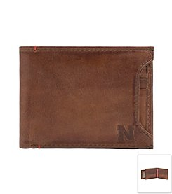 Jack Mason Men's University of Nebraska Campus Sliding 2-in-1 Wallet