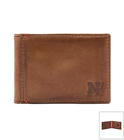 Jack Mason Men's University of Nebraska Campus Flip Bi-fold Wallet
