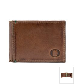 Jack Mason Men's University of Oregon Campus Flip Bi-fold Wallet