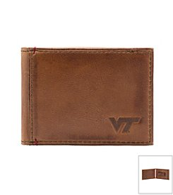 Jack Mason Men's Virginia Tech Campus Flip Bi-fold Wallet