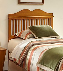Fashion Bed Group® Alexis Twin Headboard with Oak Stain Finish