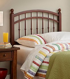 Fashion Bed Group® Bailey Twin Headboard with Merlot Stain Finish