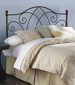 Fashion Bed Group® Deland Full Metal Headboard with Brown Sparkle Frame Finish