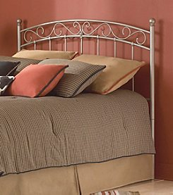 Fashion Bed Group® Ellsworth Twin Metal Headboard and Bed Posts