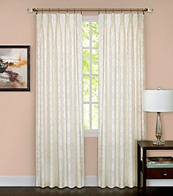 Achim Windsor Pinch Pleat Velvet Blackout Window Curtain