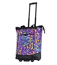 Olympia Fashionista Ink Splatter Shopper Tote