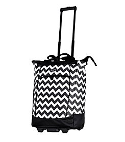 Olympia Fashionista Chevron Shopper Tote