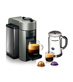 Nespresso Evoluo Coffee & Espresso Maker & Aeroccino Plus Milk Frother