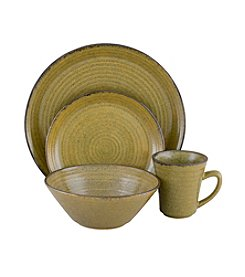 Sango Comet Lime 16-pc. Dinnerware Set