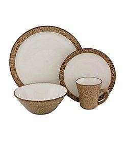 Sango Facets Gold 16-pc. Dinnerware Set