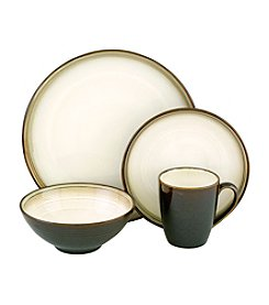 Sango Jetta Black 16-pc. Dinnerware Set